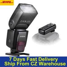 Mới Hỗn AD560 IV 2.4G Không Dây Đa Năng Trên Camera Đèn Flash Speedlite Nhẹ GN50 W/FlashTrigger Cho Canon nikon Cho Sony DSLR