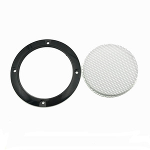 Image 2 - 3 inch Colorful Replacement Round Speaker Protective Mesh Net Cover Grille Circle Metal Audio Speaker Accessories