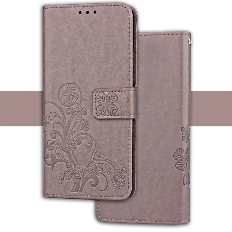 Clover <font><b>Case</b></font> For <font><b>oppo</b></font> <font><b>A37</b></font> A37F Neo 9 <font><b>Case</b></font> Faux Leather Cover Flip Wallet Coque Card Slots Mobile <font><b>Phone</b></font> Bags image