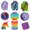 Push Pop Bubble Sensory 2021 Fidget Toy Autism Needs Squishy Adult Child Funny Anti-stress Fidget Stress Reliver Rainbow Toys