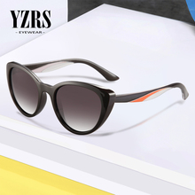 YZRS Brand Cat Eye Sunglasses Women Polarized Retro Female Fashion Sun Glasses Vintage UV400 Eyewear
