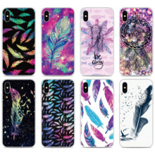 TPU Soft Silicone Feather Phone Case For OPPO Find X2 Pro A9 A8 A5 A31 2020 A91 AX5S Realme 5 6 X50 Reno A 3 Pro Back Cover tpu soft silicone sailor moon phone case for oppo find x2 pro a9 a8 a5 a31 2020 a91 ax5s realme 5 6 x50 reno a 3 pro back cover