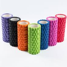 Hollow Yoga Columns Balance Bars Foam Shaft Roller Massage Column Fitness Pilates Gym Muscle Back Yoga Block Stick(China)