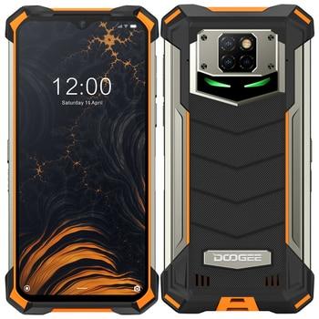 Перейти на Алиэкспресс и купить DOOGEE S88 Pro 10000 мАч NFC OTG IP68/IP69K смартфон с восьмиядерным процессором, ОЗУ 6 ГБ, ПЗУ 128 ГБ, 21 МП, Android 10, мобильный телефон