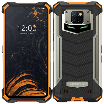 DOOGEE S88 Pro 10000mAh NFC OTG IP68/IP69K Rugged Phone Octa Core 4G SmartPhone 6GB RAM 128GB ROM 21mp Android 10 Mobile Phone blackview bv8000 pro ip68 waterproof cellphone mtk6757v octa core android 7 0 mobile phone 5 0 fhd 6gb ram 64gb rom 4000mah nfc