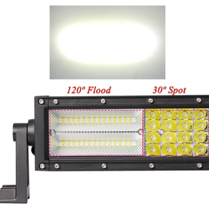 Image 3 - VISORAK 22 32 42 50 52 بوصة مستقيم منحني ATV LED قضيب مصابيح عملي 4x4 4wd الطرق الوعرة عمود إضاءة LED لسيارة 4WD 4x4 شاحنة SUV ATV جرار