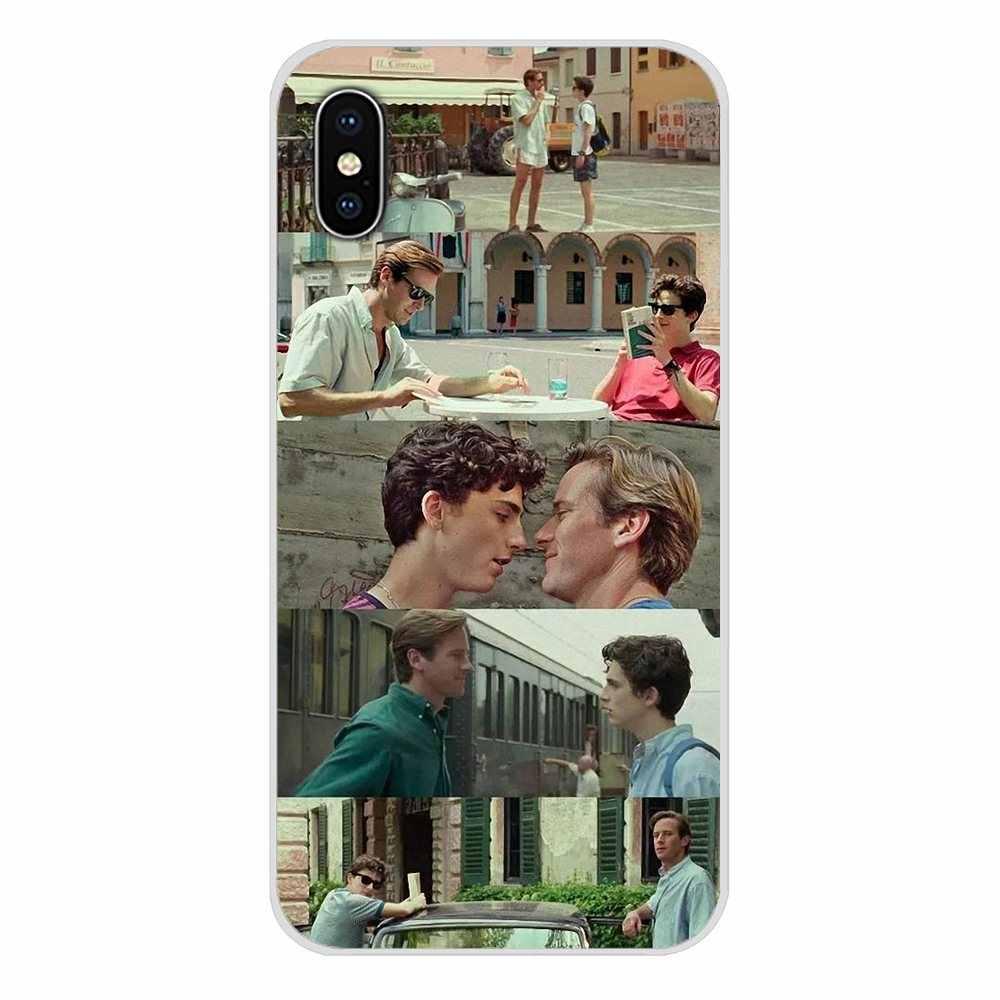 สำหรับ Apple iPhone X XR XS 11Pro MAX 4S 5S 5C SE 6S 7 8 PLUS iPod TOUCH 5 6 โทรศัพท์เปลือกครอบคลุม Call Me โดยของคุณชื่อ