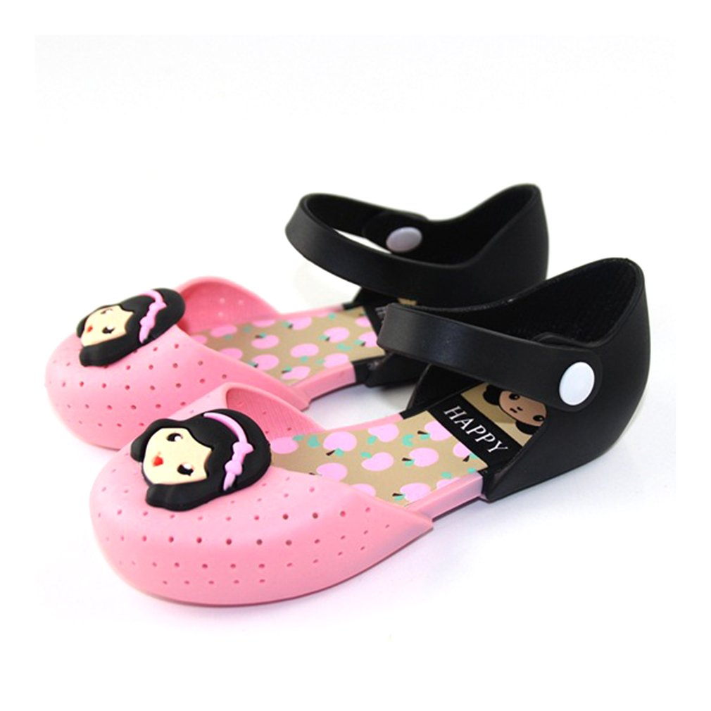 Children Kids Toddler Baby Shoes Soft PVC Comfortable Shoes Summer Non-slip Anti-skid Shoes Princess Girls Outdoor Wear