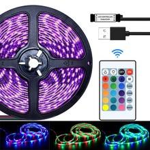 LED Strip Light WIFI Controller  RGB 5050 SMD 2835 Waterproof Flexible Ribbon DC 12V 5M 10M 15M 20M Room Decoration luces LED