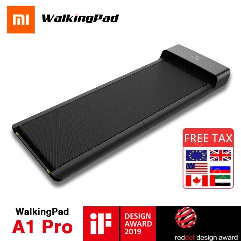 Original Xiaomi Mijia WalkingPad A1 Pro Smart Folding Walking Pad Manual Automatic Mode Indoor Home Electrical Fitness Equipment