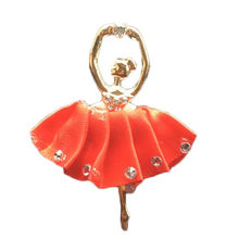Plastic Ballet Girl Perfume Air Conditioning Outlet Aromatherapy Clip Lovely Decor Car Decoration Ornaments(China)