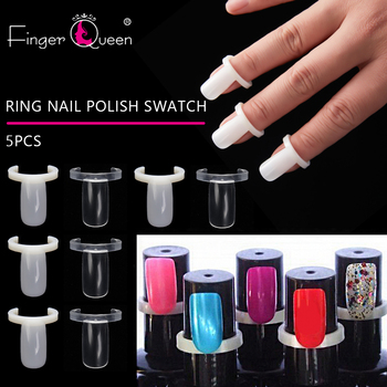 Fingerqueen 50/Pcs Acrylic Full Nail Polish UV Gel Color Pops Display Natural Nail Art Ring Style Nail Tips Chart Full Nail hr5544 nail care 50tips lot nail art salon natural color abs material false nail tips polish uv gel display nails color chart