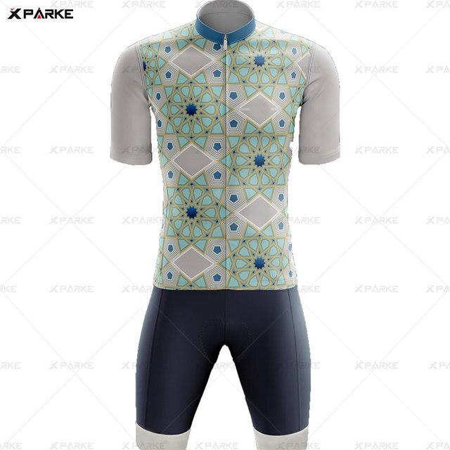Novo 2020 triathlon terno de manga curta camisa ciclismo skinsuit macacão maillot ciclismo ropa ciclismo conjunto roupas 4