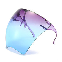 Goggle Faceshield Protective Glasses Women Men Oversized Safety Waterproof Glasses Mask Protective Riding Goggle Sunglasses/