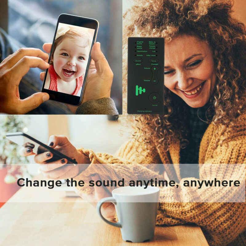 Multi Voice Changer Toy Junge // Mädchen // Mann // Männlicher Roboter //