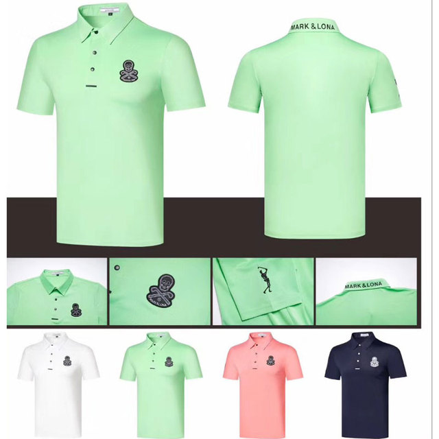New Golf Clothing Short sleeve MAPK&LONA Golf T-shirt 3Colour
