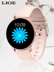Electronic Watch Sport-Wristwatch Mode Blood-Pressure Android Smart Women Fashion Digital