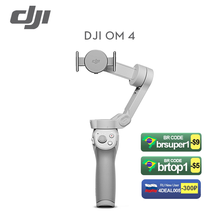 DJI Osmo Mobile 4 OM4 Combo Selfie Stick Bluetooth Stabilisator Telefon Stativ Gimbal Schnell Rolle Intelligente Schießen Modus Auf Lager