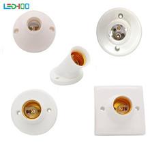 NEW Screw Lamp Base e14 e27 B22 Lamp holder Socke base Light Bulb e27 Socket Holder Adapter cheap BAMER CN(Origin) Lamp Bases 10years BRASS