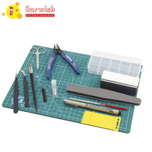 Suriwsh 7pcs/set For Gundam Model Tools Kit Modeler Basic Tools Craft Set Hobby Building Tools Kit Hot Sale