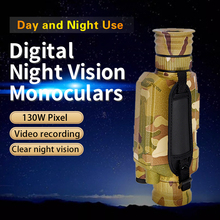Бинокль наружный телескоп ночного видения 5X инфракрасная цифровая камера Vedio 200 м Диапазон Монокуляр прицел для охоты