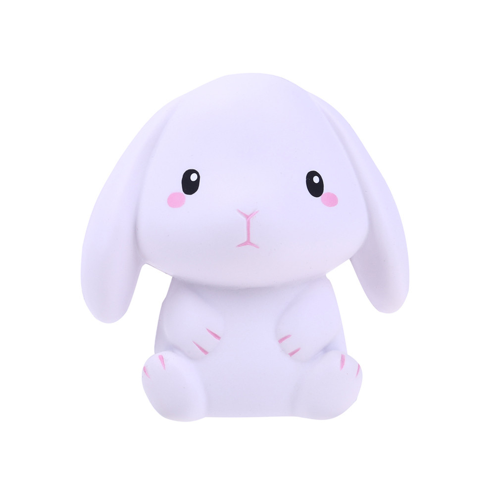 Toys Kneading Toys Slow Rebound PU Toys Adorable Simulation Rabbit Slow Rising Cream Scented Stress Relief  L1213