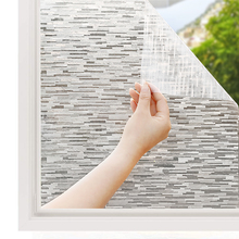 Funlife Decorative Privacy Window Film Self-adhesive Frosted Glass Static Cling Sticker Anti UV Tint