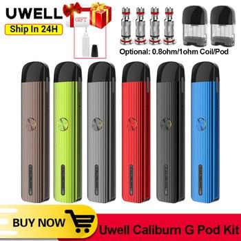 Uwell – stylo vapoteur Caliburn G Pod, batterie 690mAh, cartouche de calibrage 2ml, Cigarette électronique, Kit VS W01, Original