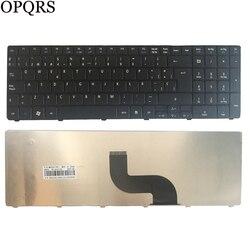 Espanhol para Acer Aspire 5551 5736 7739 5741 5740G 5410 5538 t 7751 5745 7739G 7739Z 7739ZG 8940 5560(15 ') SP teclado do laptop