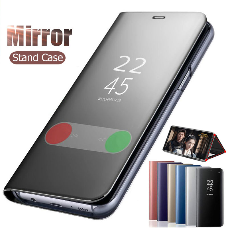 <font><b>Mirror</b></font> Smart <font><b>Flip</b></font> Cover Caas for <font><b>Sony</b></font> <font><b>Xperia</b></font> 1 II 10 Plus <font><b>Stand</b></font> Leather <font><b>Phone</b></font> Cover for <font><b>Sony</b></font> <font><b>Xperia</b></font> 10 Plus 1 2 <font><b>XZ3</b></font> XZ4 XZ5 <font><b>Case</b></font> image