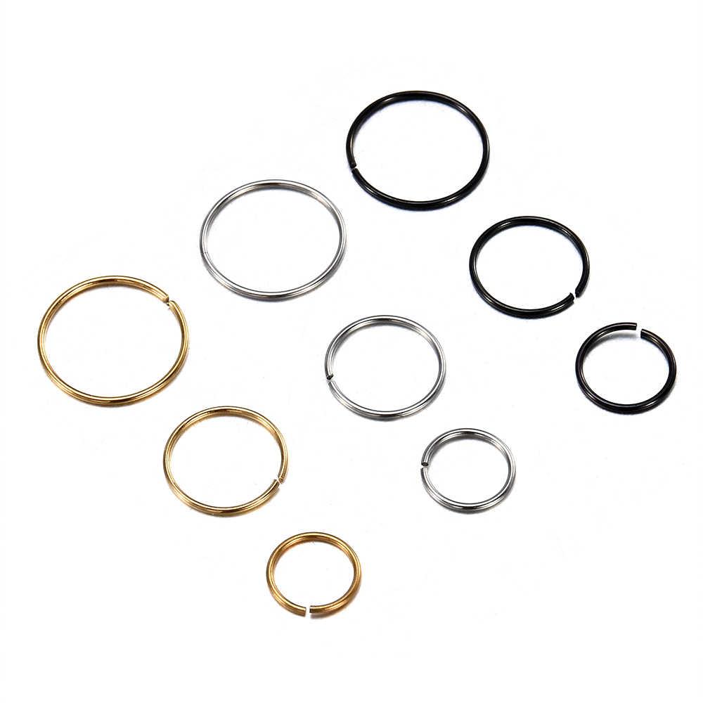 3ชิ้น/ล็อต2019 OรูปปลอมแหวนจมูกHoop SeptumแหวนสแตนเลสเจาะจมูกปลอมเจาะOreja Pircingเครื่องประดับ