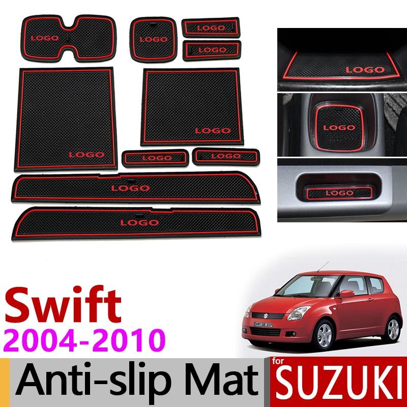 Anti Dirty Pad For Suzuki Swift 2004 2005 2006 2007 2008 2009 2010 Maruti Sport Accessories ZD11S ZC31S Accessories Door Groove|Anti-Slip Mat| |  - title=