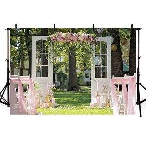 Image 2 - Avezano Photography Background Wedding Engagement Flower Curtain Location Backdrop Photocall Photo Studio Photozone Decor Props