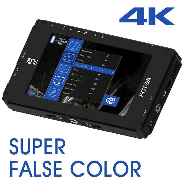 Fotga DP500IIIS A70T Touch Screen 7 Inch FHD IPS Video On Camera Field Monitor, 1920x1080, 4K HDMI voor DSLR Mirrorless Cinema
