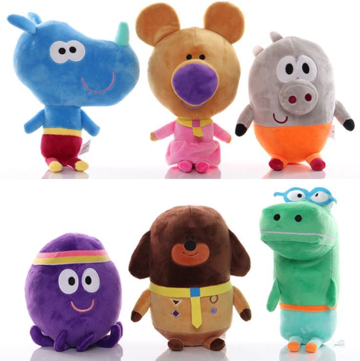 Kawaii Hey Duggee Woof Duggee Stuffed Plush Doll Animie Cartoon Duggee Stuffed Doll Kids Birthday Gift