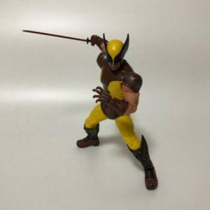 Image 5 - 6 cal Mezco tkaniny x men Wolverine 2 pokoleń figurka pcv ruchome kolekcja zabawki prezenty