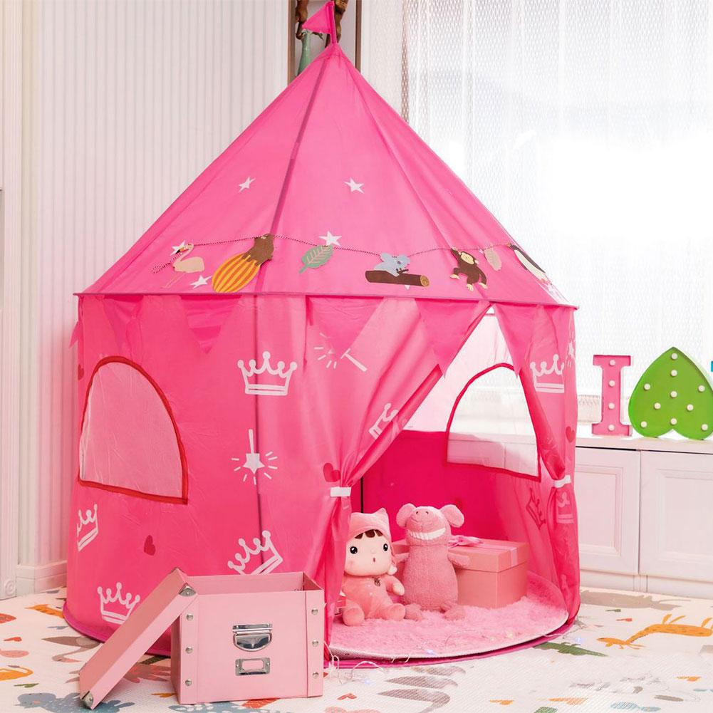 Children Princess Tent Toy Portable Game House Private Space Providing Tent For Outdoor Picnic Travel Outing For 3-8 Years Old