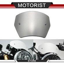 Para kawasaki z900rs z900rs windscreen 2017 2020 cnc de alumínio tela frontal windscreen windscreen defletor de vento acessórios da motocicleta