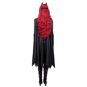Image 3 - Batwoman Batgirl Cosplay kostüm cadılar bayramı süper kahraman Batgirl tulum Kate Kane kostüm Batwoman seksi Bodysuit Colak Custom Made