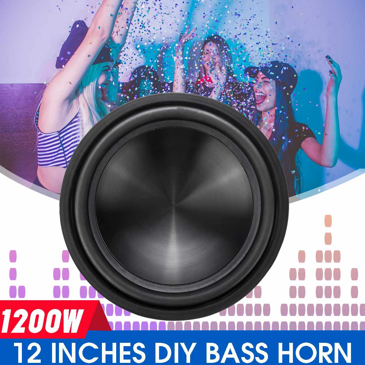 12 Inch 1200W 50 Core High Power Car Woofer Car Speaker Stereo Vehicle Woofer DIY Bass Replacement Speaker And Subwoofer