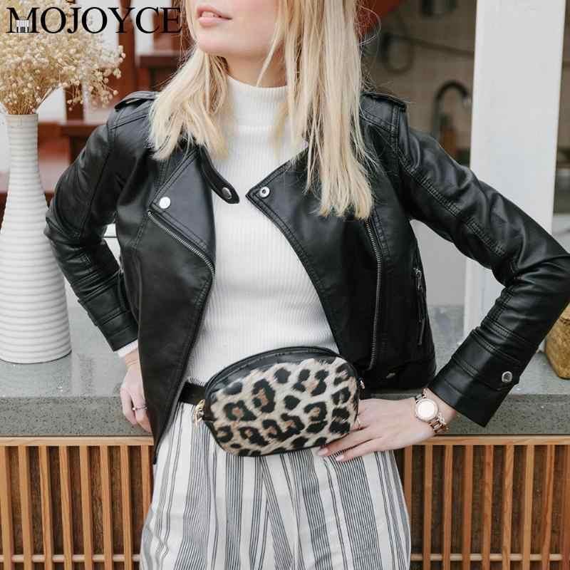 แฟชั่นโซ่งูไหล่เอวกระเป๋า Fanny แพ็คเข็มขัดกระเป๋าผู้หญิงผู้หญิง PU หนัง Crossbody Messenger กระเป๋า 2019