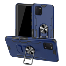 Armor Case For Samsung Galaxy Note 10 Lite  Magnetic Ring Holder Shockproof Silicone Phone Cases For Galaxy A81 M60S Back Cover чехол innovation для samsung galaxy note 10 lite a81 m60s silicone cover blue 16852
