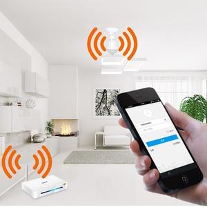 Image 3 - 360 Graden LED Licht 960P Draadloze Panoramisch Home Surveillance Beveiliging WiFi CCTV Fisheye Bulb Lamp IP Camera Twee Manieren audio