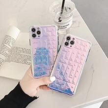 Suitable for iPhone 11 Pro Max 7 8 Plus X XR XS Max mobile phone case laser plating mirror mobile phone case soft silicone shell plating tpu phone case for iphone 11 pro max 6 7 8plus xs max xr soft silicone upscale phone cases mobile phone accessories