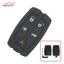 Kigoauto смарт ключ чехол для landrover lr2 4 кнопки с паникой