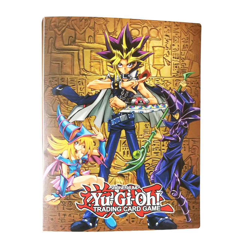 TCG Table Card Game Yu Gi Oh Deck Toys YuGiOh Collection Album Capacity 112 Cards OCG Board Game For Children Christmas Gifts(China)