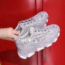Crystal Women Shoes Summer Platform Sneakers Women