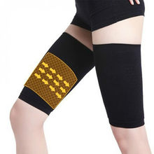 1 par de perda de peso calorias fora da compressão braço perna shaper manga varicosas veias apoio tênis fitness cotovelo meias emagrecimento envoltório