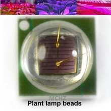 цена на 15PCS 3W 3535 Royal Deep Red 660nm Plant Grow LED light Epileds Led Emitter Light for indoor garden plant Grow Aquari