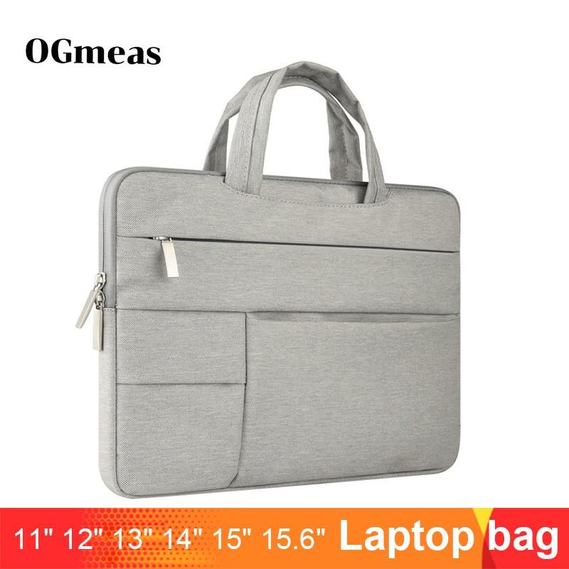 Laptop Sleeve Bag For Macbook Air 13 Case Nylon Laptop Case 15.6 11 14 15 Inch Bags For Men Women Zipper Case